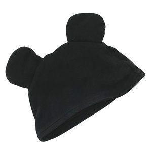 Black Mickey Mouse Infant Cap
